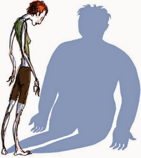 image showing a man with body dysmorphic diisorder