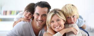 happy drug free family photo