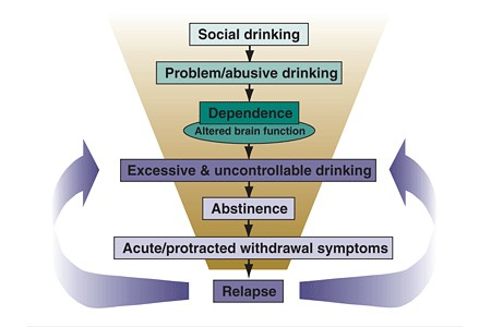 image cycle of alcoholism