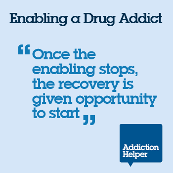 enabling a drug addict