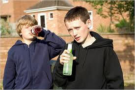 drunk children