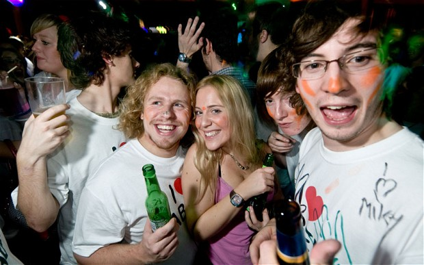 Freshers Week and the Drinking Culture