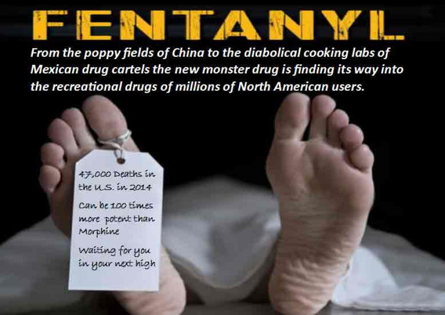 image showing the effects of fentanyl addiction