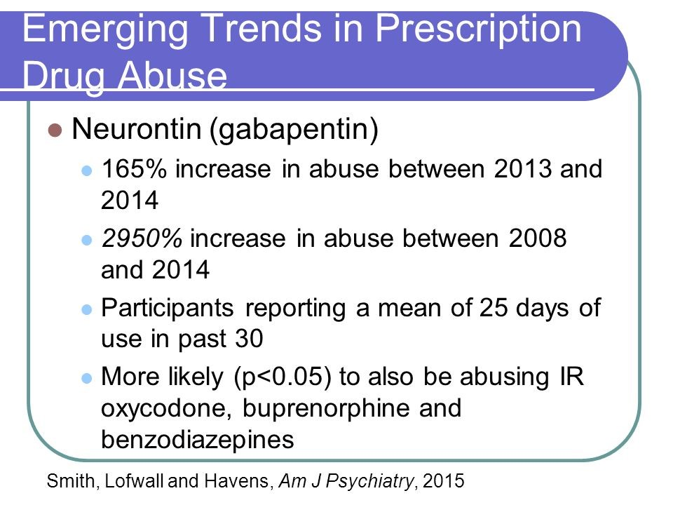 image showing the emerging trends in prescription drug abuse