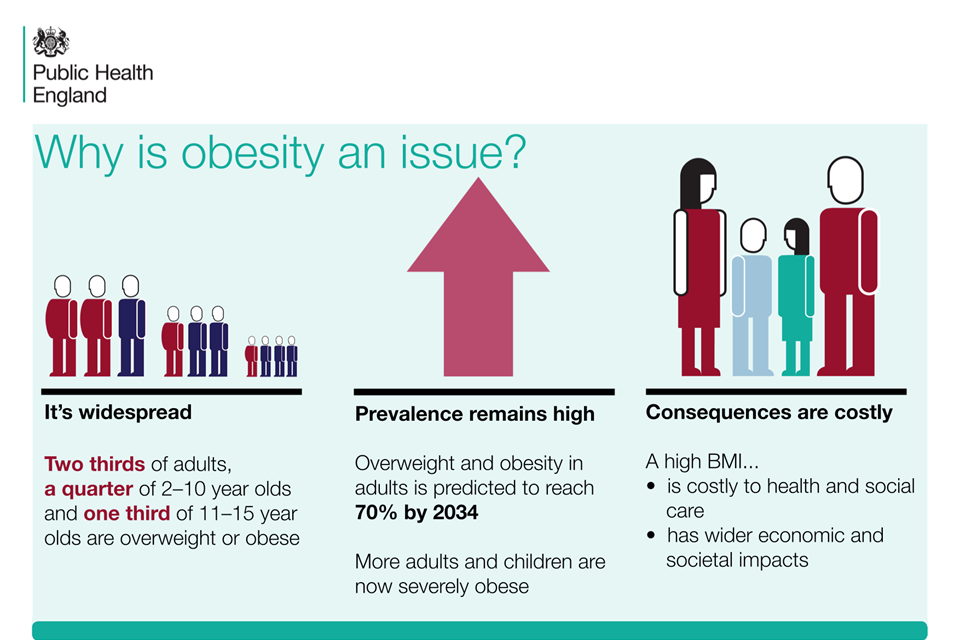 why is obesity an issue graph