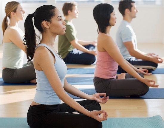 image showing women during yoga