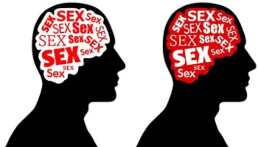 image showing how an addict thinks about sex
