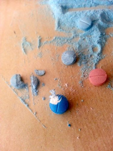 etizolam tablets crushed