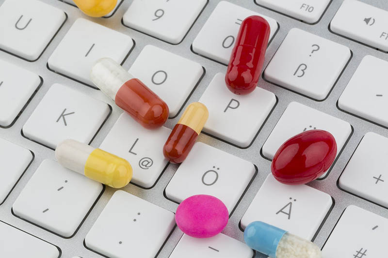 pills keyboard online photo