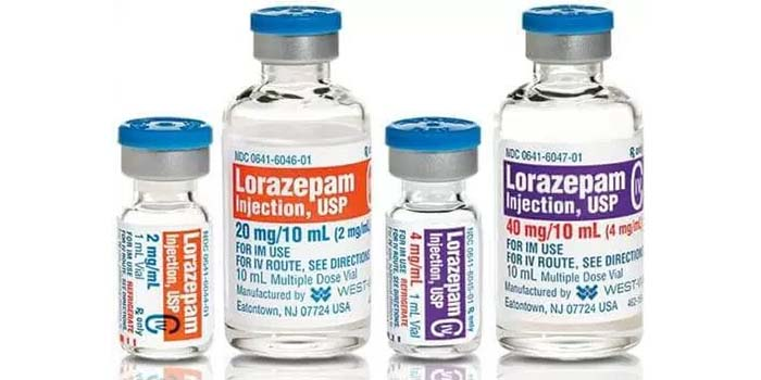 image of lorazepam injection