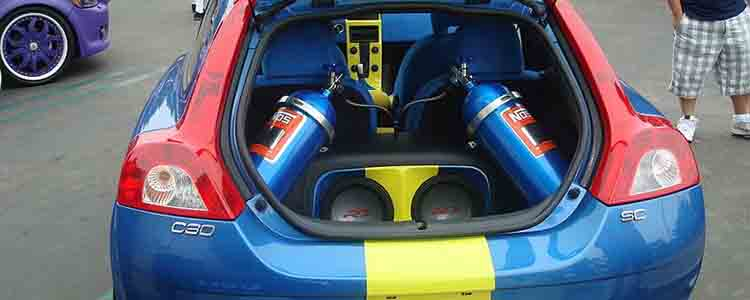 tuned car laughing gas photo