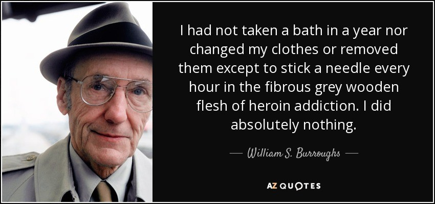 heroin addiction quote